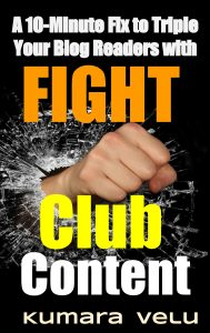 Fight Club Content Strategy by Kumara Velu