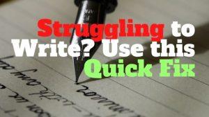 Struggling to Write