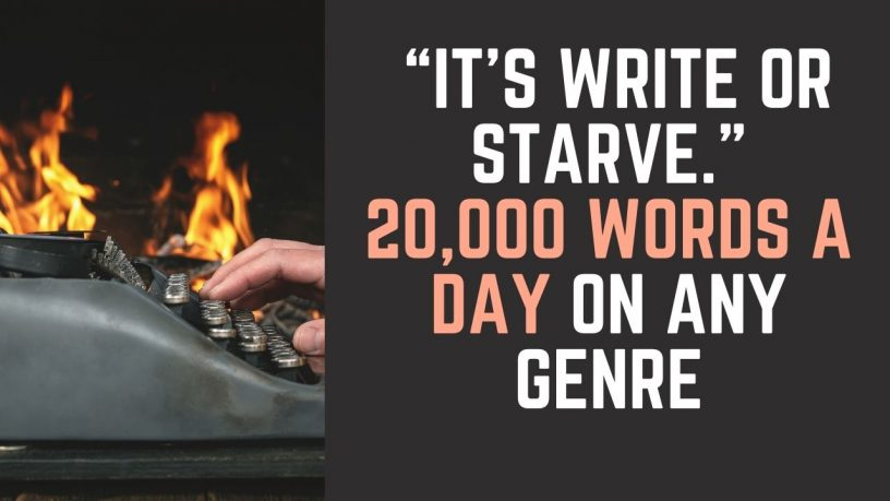 20000 words a day